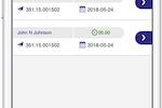 ComputerEase Cloud screenshot: ComputerEase: Time Entry List
