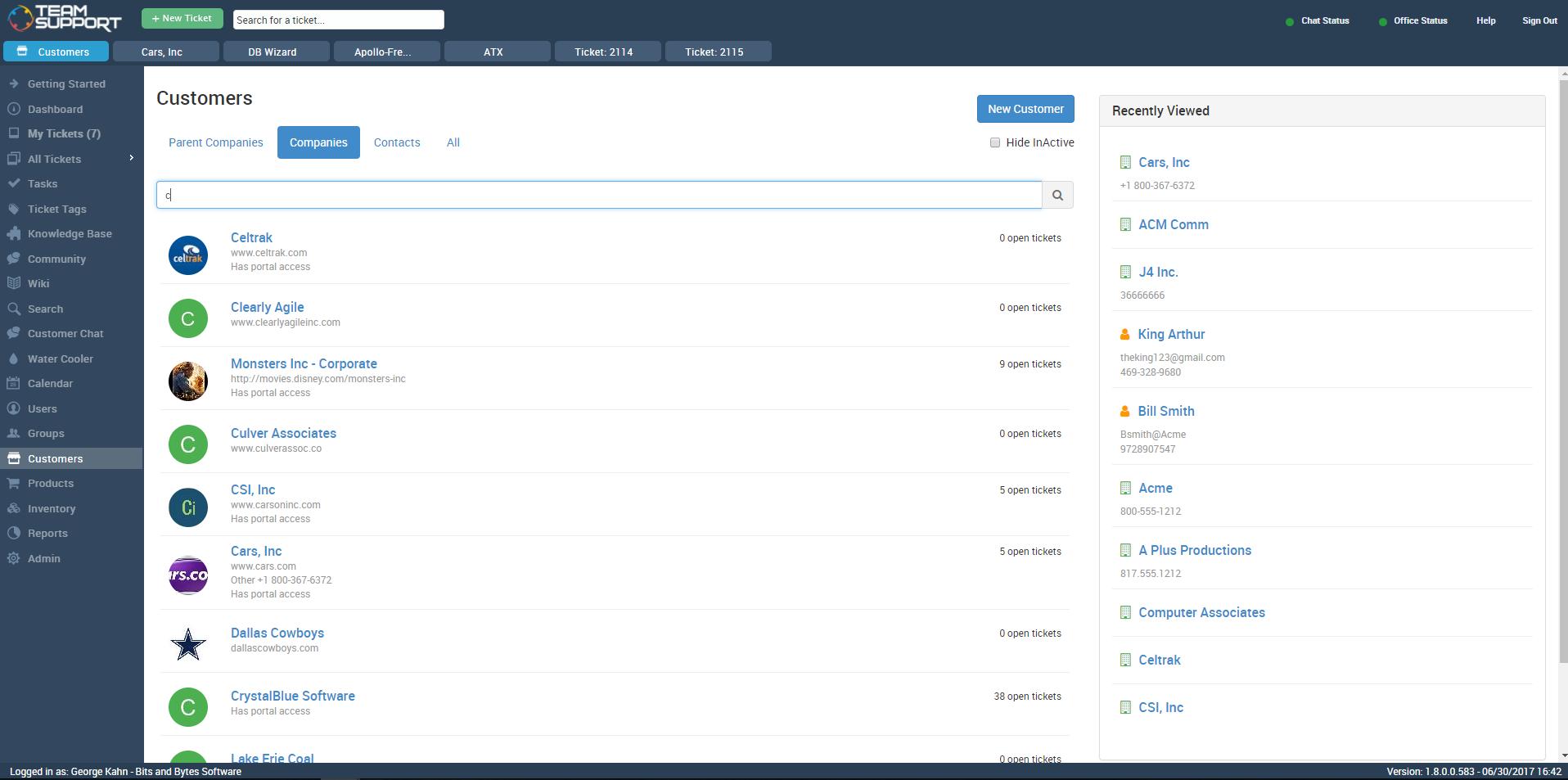 TeamSupport Software - 4