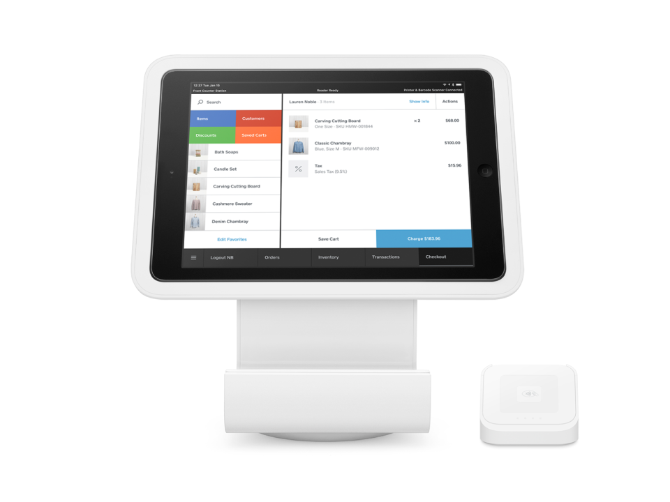 Square for Retail Software - 2
