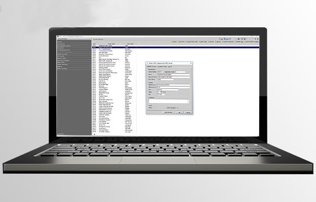 BRIX project accounting screenshot