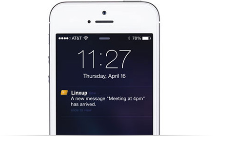 Send real-time messages to your worker's mobile app and reduce calls