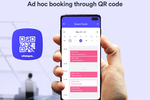 Whatspot Screenshot: Whatspot QR code bookings