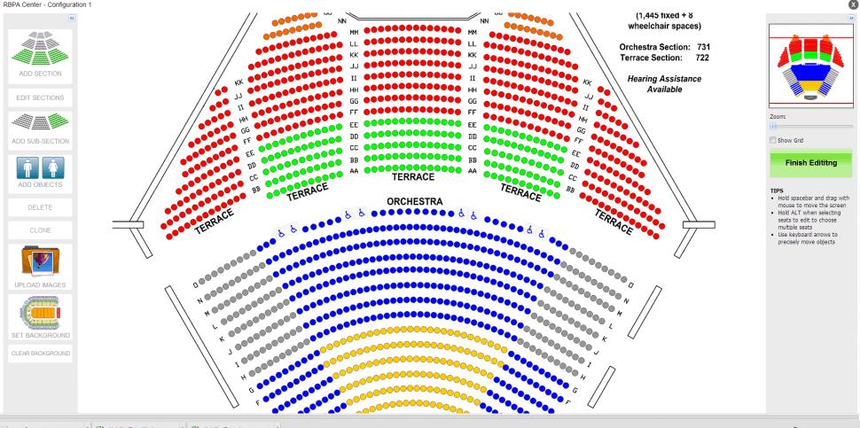 Purplepass Ticketing Software - Assigned seating management