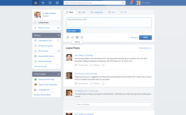 Edmodo Software - Edmodo self service portal
