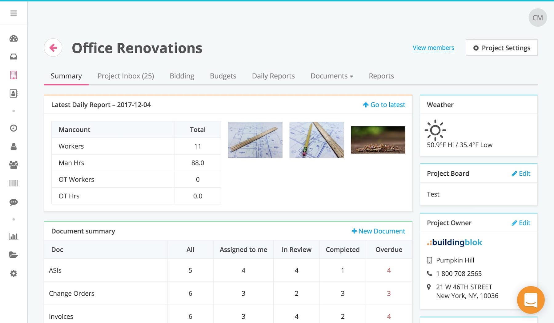 Generate project summaries