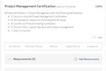 Captura de tela do Trakstar Performance Management: Add/Track Goals