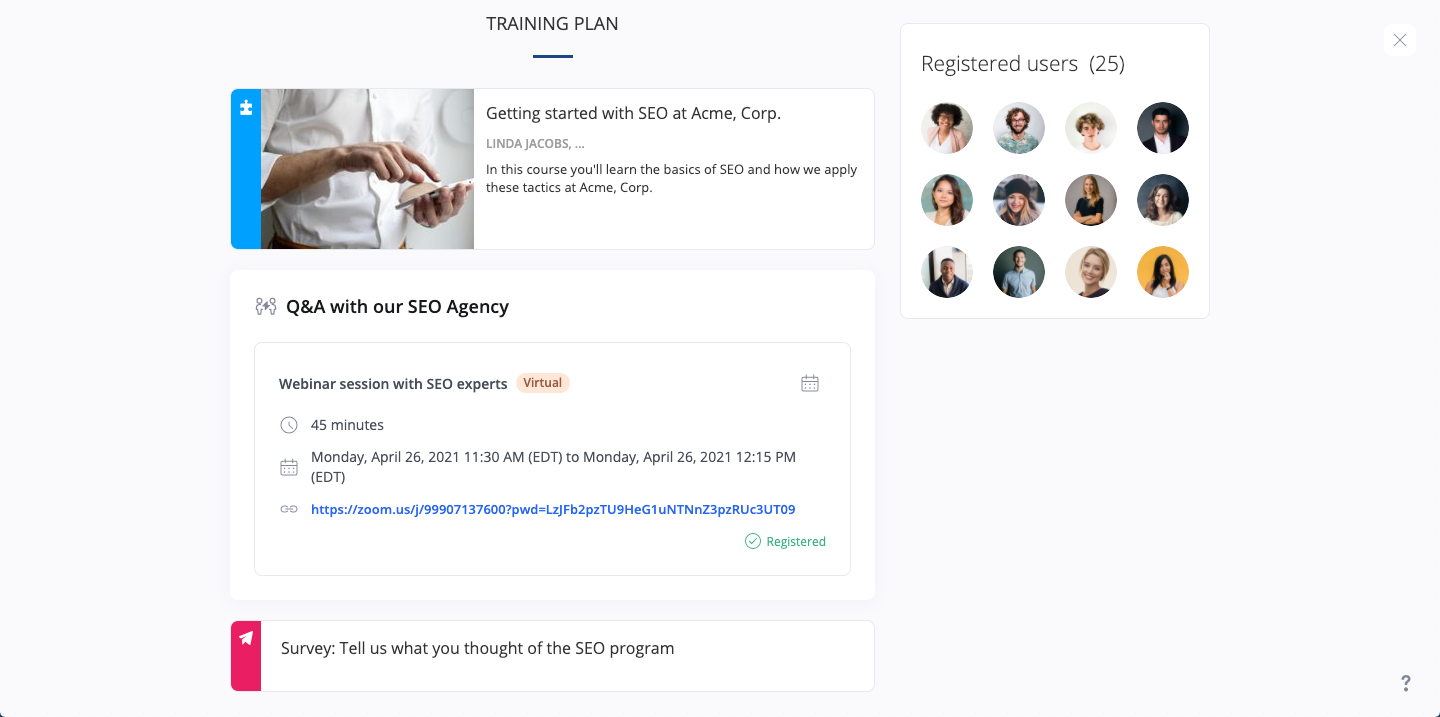 360Learning Software - Take your courses to the next level with learning programs that guide learners every step of the way. Add classroom sessions, assessments, certifications, and more.