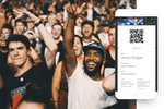 Eventbrite screenshot: Allow attendees to check-in using their mobile device with scannable tickets