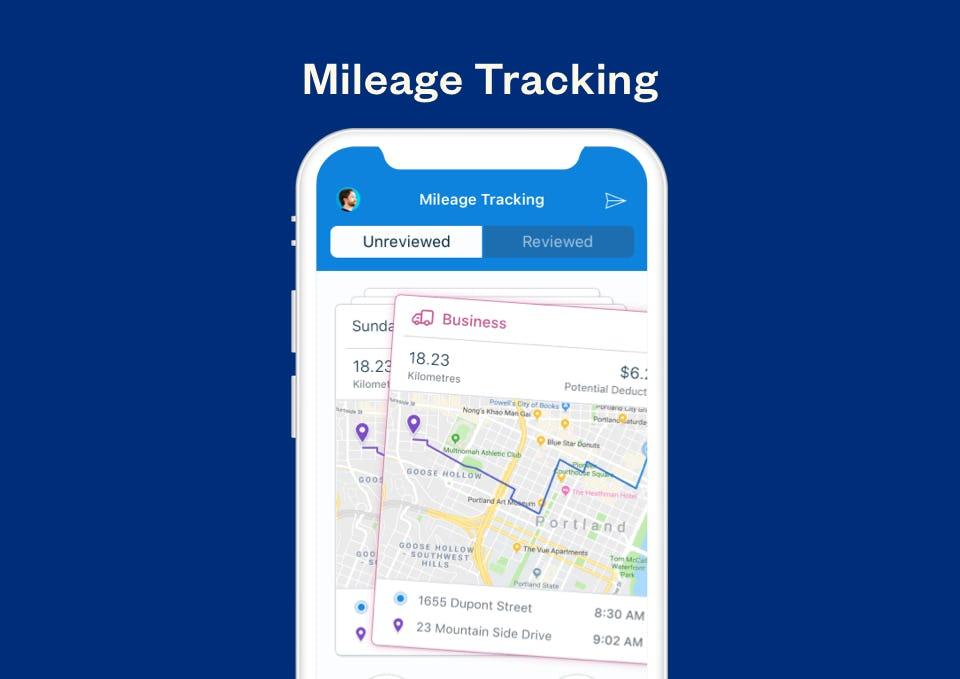 FreshBooks Software - FreshBooks mileage tracking