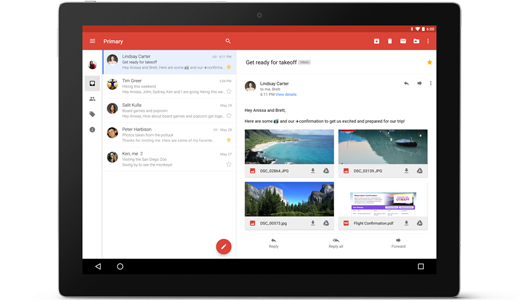 View attachments instantly, without leaving Gmail