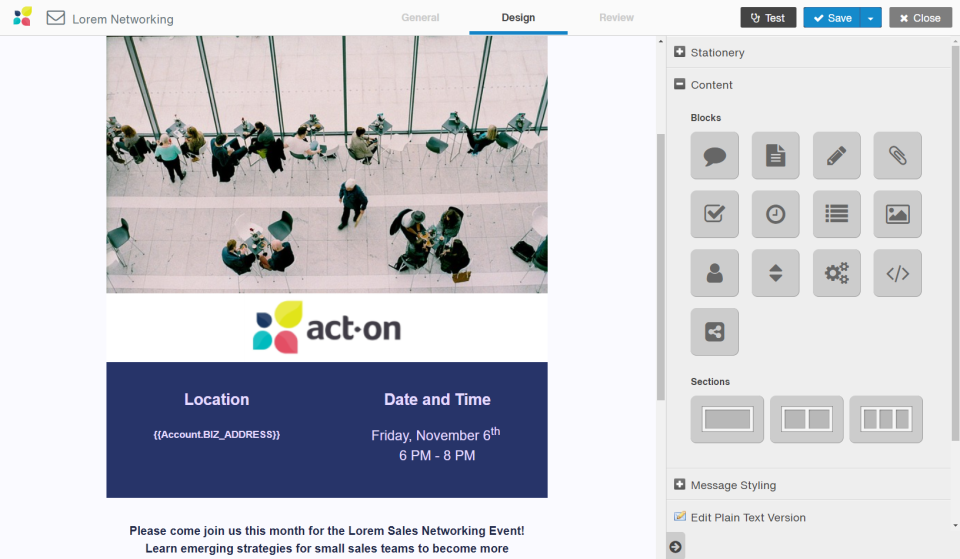 Act-On Software - 5