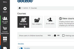 Docebo screenshot: Docebo UI