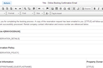 Lodgix Screenshot: Users can set up email templates in Lodgix to automate their communications