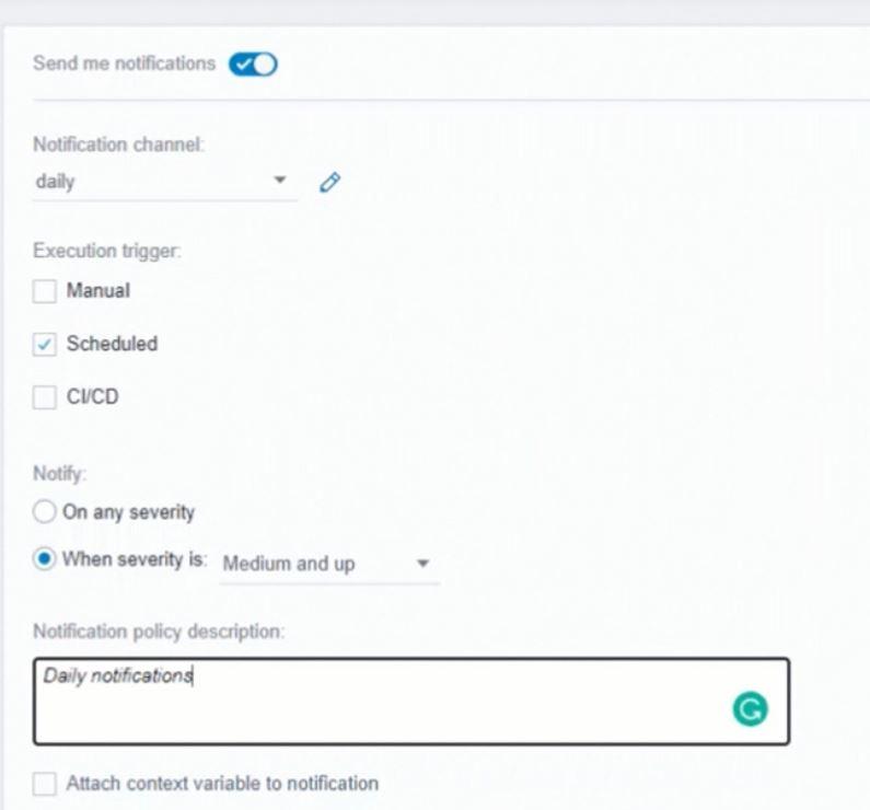 TestCraft notifications