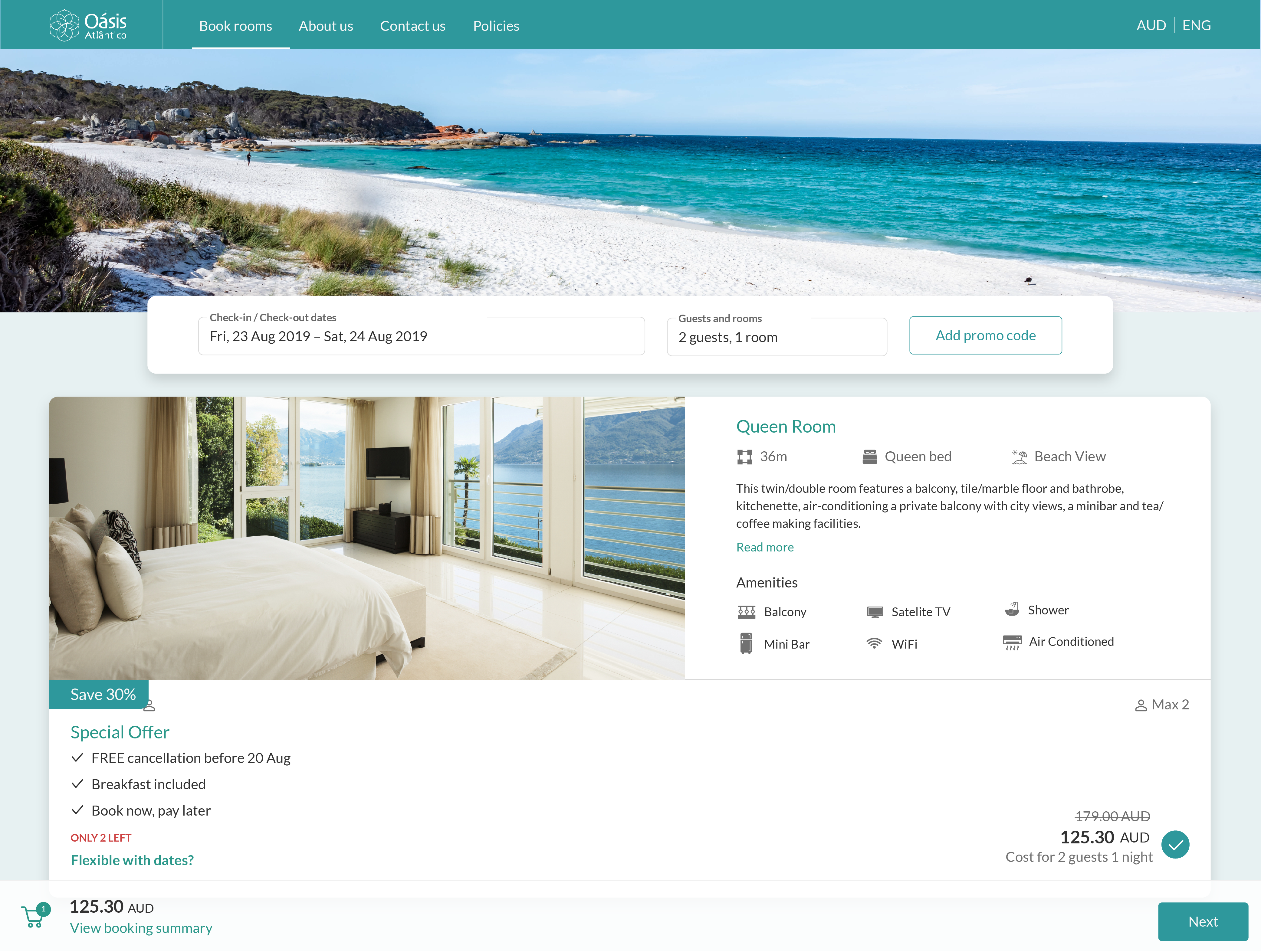 SiteMinder's intuitive booking engine is designed from the ground up to optimise every step of the direct hotel booking experience - from attracting guests to converting them into your guests