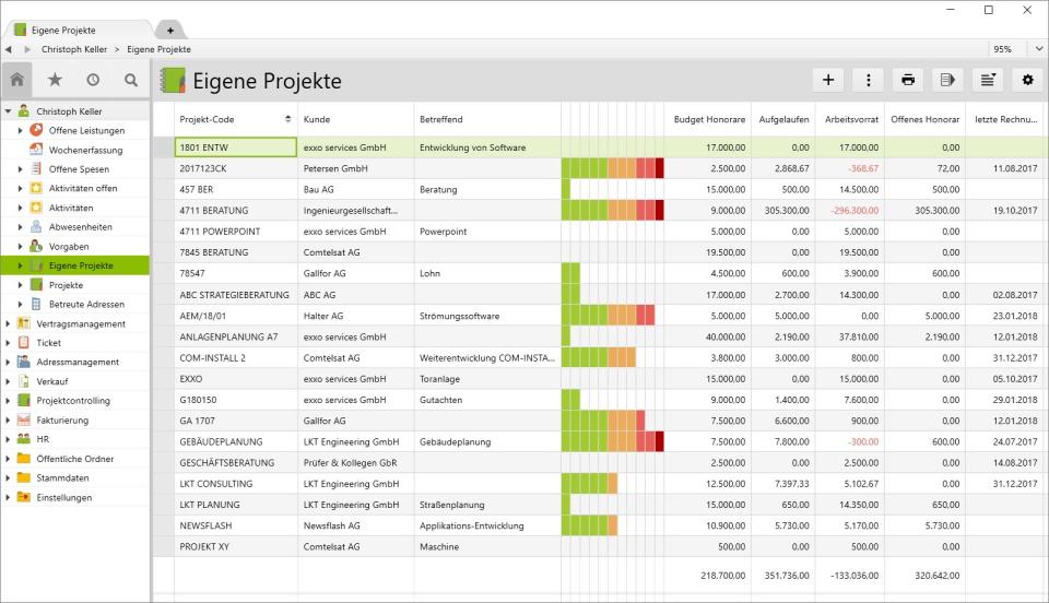 Vertec project management
