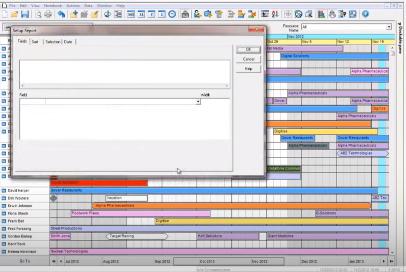 Retain Resource Planning Software - Report builder