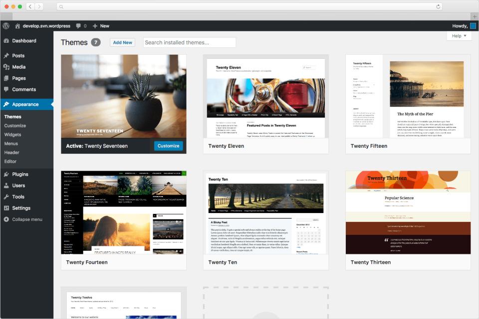 WordPress Software - 1