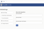 Clearlogin screenshot: Password management feature helps to mitigate login issues and sync passwords with other cloud applications