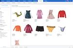 ApparelMagic screenshot: ApparelMagic product catalog