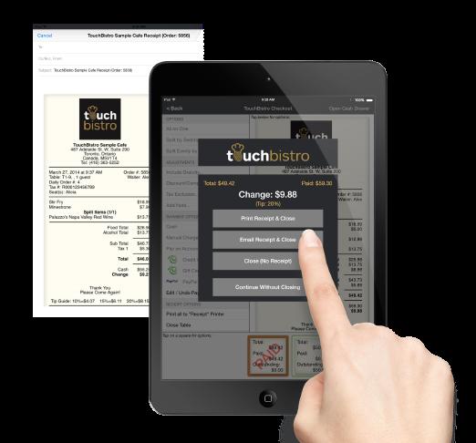 TouchBistro Logiciel - 2