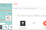 TractionNext screenshot: Integrate and connect TractionNext with Podbox and Zapier