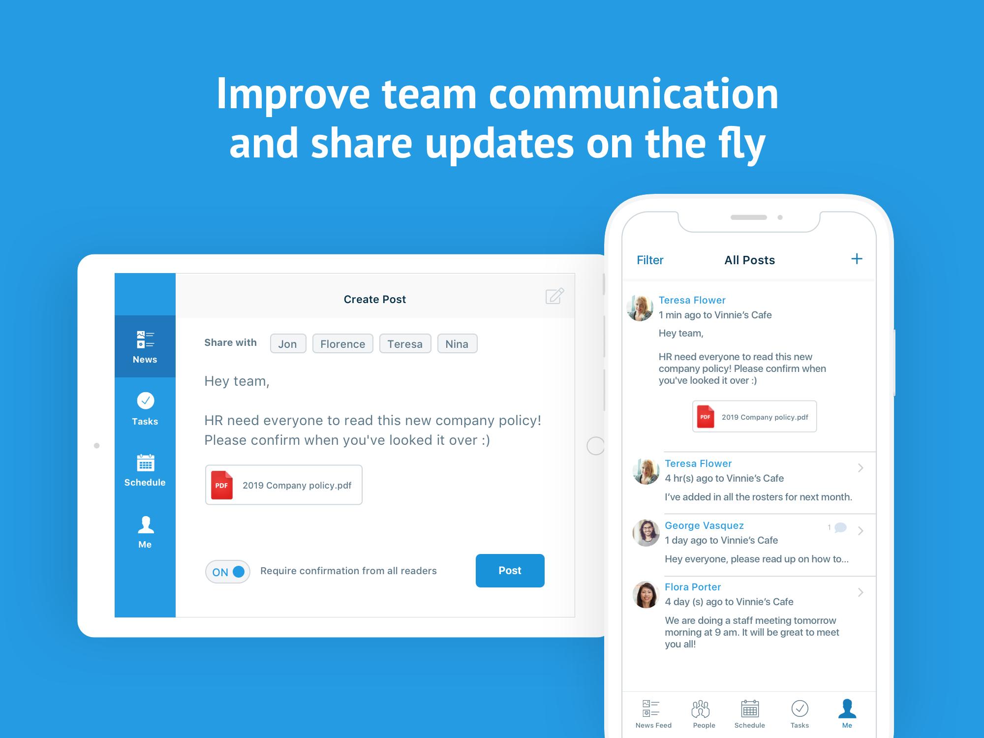 Deputy Software - Deputy team communication