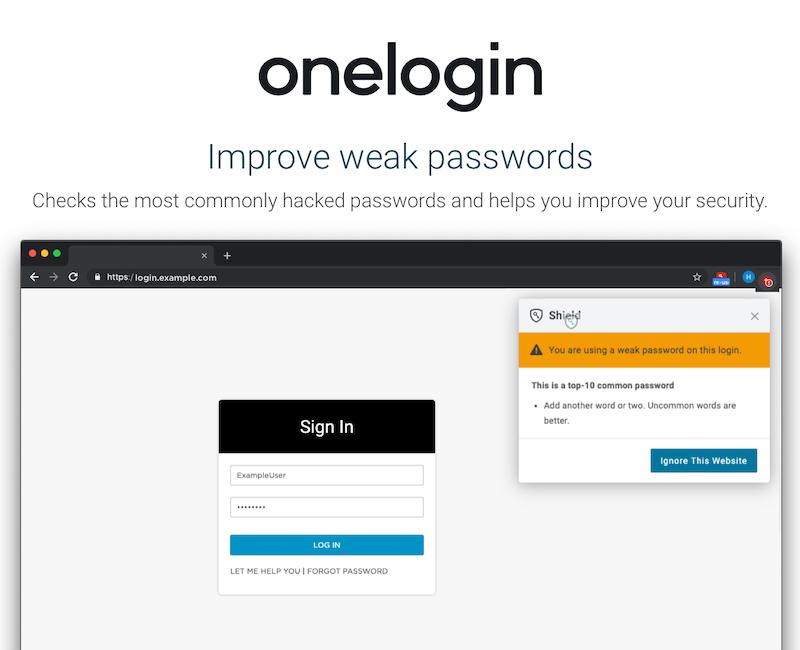 OneLogin Software - OneLogin password management