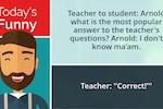 Capture d'écran pour Educate the Wait : The joke app displays a random non-offensive joke from a collection