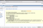 Amazon Cloud Search screenshot: AmazonCloudSearch-WebsiteSearch-Dashboard