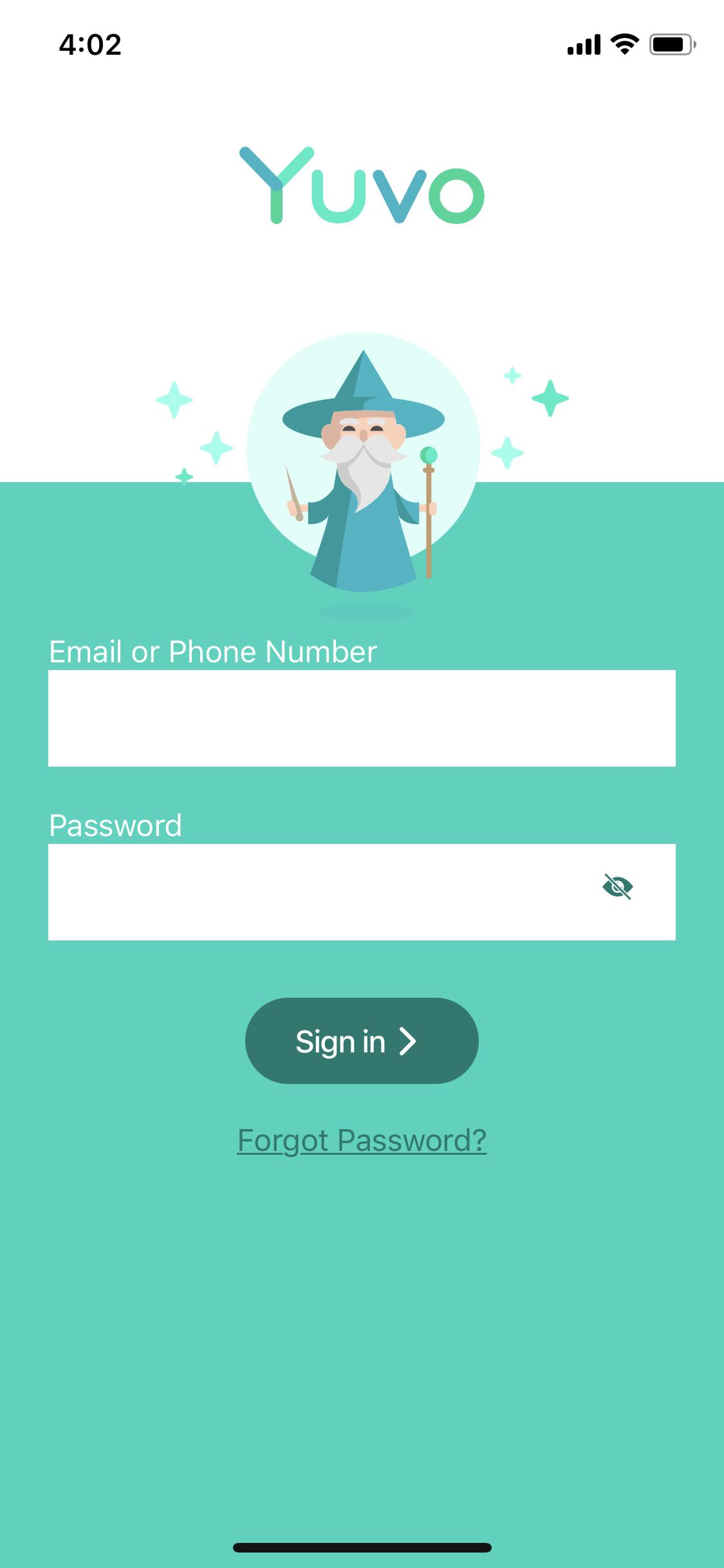 Yuvo mobile login
