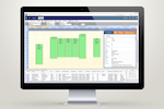 Fieldpoint screenshot: Scheduling/dispatch features allow for the checking of technician skills, calendar schedules and locations