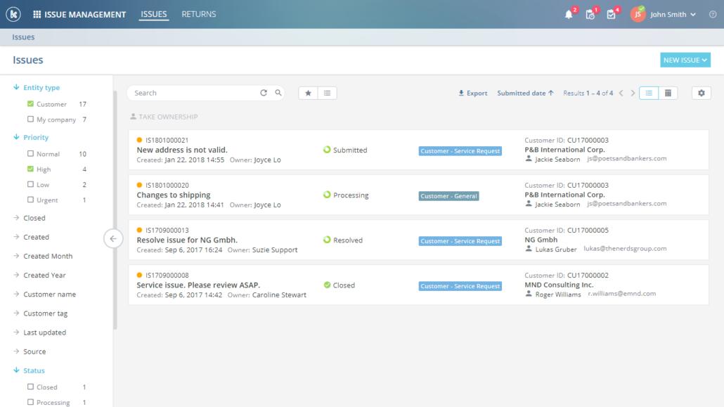 Kloudville Software - Issue management %>