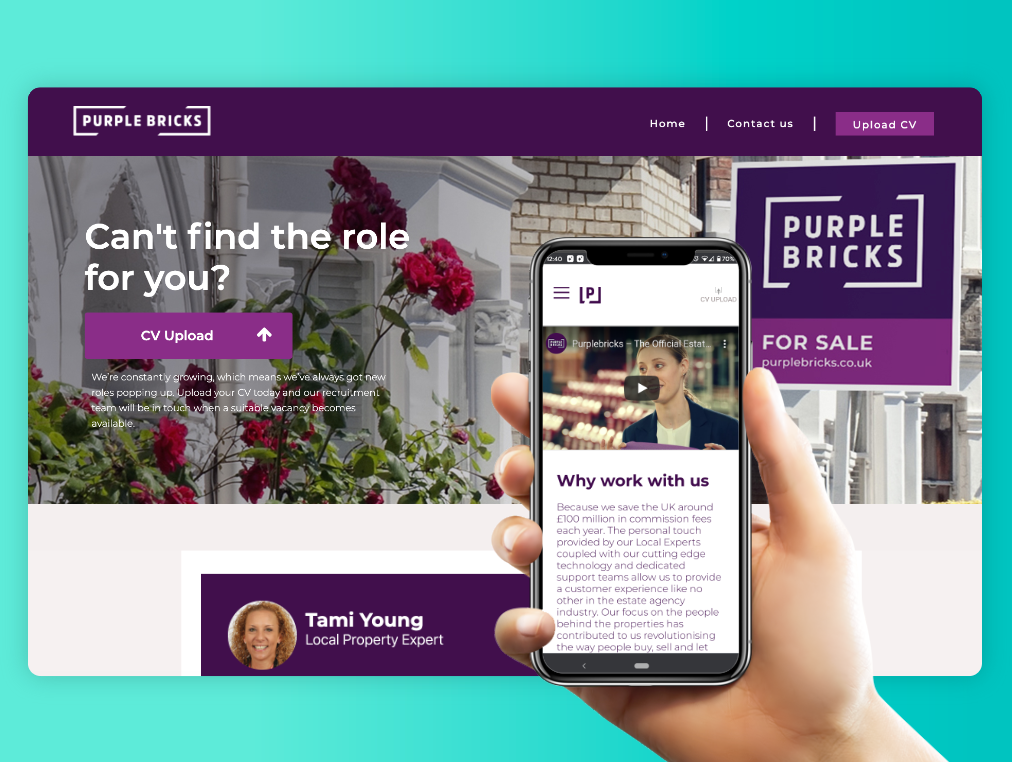 Careers Pages - Designed to promote your employer brand