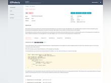 Probely Software - Probely vulnerability fix guidance screenshot