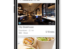 DineTime Host screenshot: The customer app for iOS and Android allows users to search for restaurants, makes reservations, and more