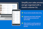Method CRM screenshot: Simplify your sales process and get organized with a shared customer list
