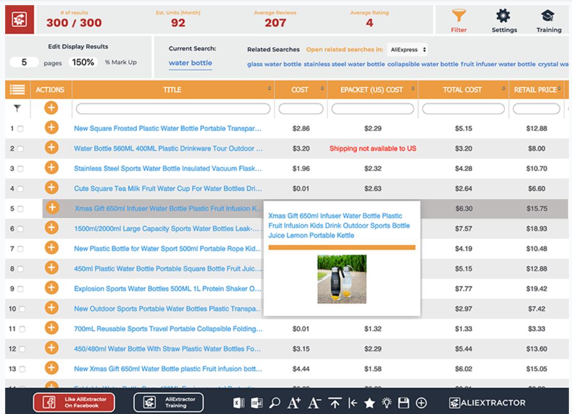Dropified Software - Dropified product search