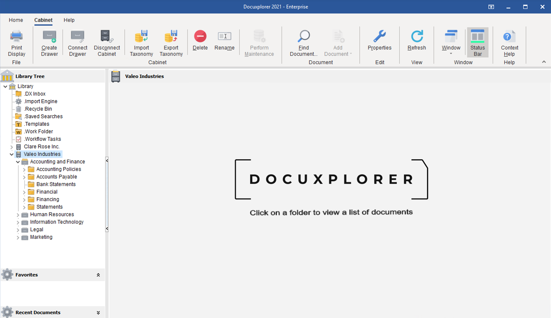 DocuXplorer Software - 1