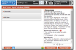 tcnp 3 screenshot: Check client info, IVR data and responses all from one, central screen