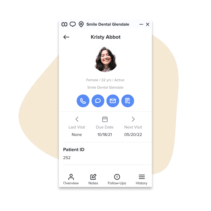Weave Software - Know more about your customer as soon as you answer the phone. Contact info, every interaction, any follow ups or tasks at your fingertips so you can provide the best experience possible.