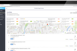 ReachOut Suite screenshot: Customer database including details and history