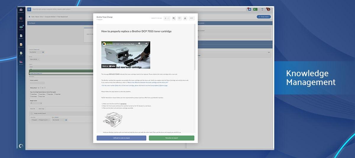 InvGate Service Desk Software - Knowledge Management