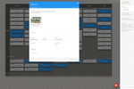 Kanban Tool screenshot: An open card view. Users select what fields a given card color (type) should display. Task comments and edit history visible in the side panel on the right.