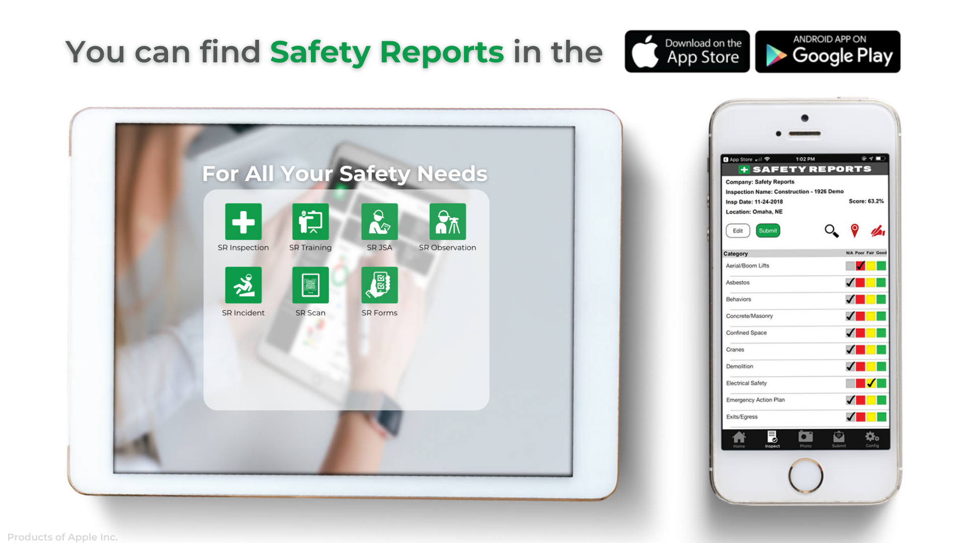Safety Reports Software - 2