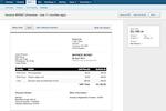 FreeAgent screenshot: Invoices in FreeAgent