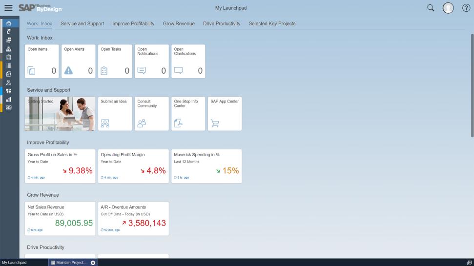 SAP Business ByDesign Software - 2