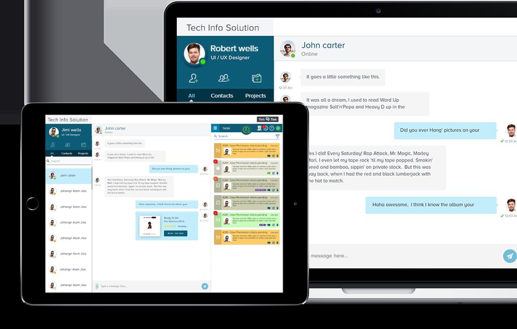 Talk on Task Mobile Capabilities