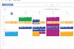 Captura de pantalla de eXo Platform: Agenda