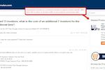 Answerbase Screenshot: E-Commcerce Module